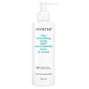 Reversa's skin smoothing body lotion